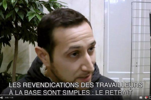 Réactions à chaud suite au Meeting retraites RATP du 16/10/2019