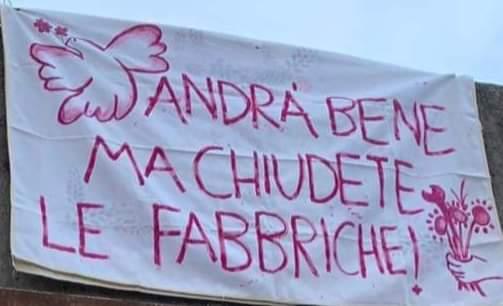 Italie : Les métallos en grève pour ne pas mourir !