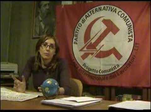 Fabiana Stefanoni, du Parti d'Alternative communiste (PdAC), nous apporte des compléments d'information sur la situation en Italie