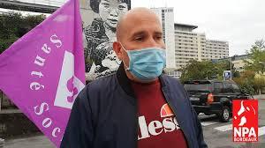 Grève des logisticiens à l'hôpital Pellegrin de Bordeaux