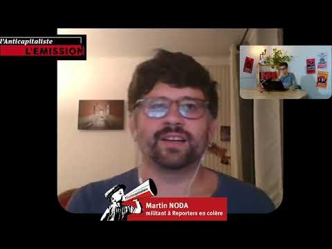 Interview de Martin Noda, du collectif Reporters en colère