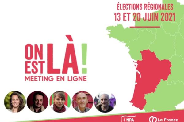 """Accord """"LFI-NPA"""" en Nouvelle-Aquitaine : une campagne réformiste qui renforce la crise du NPA"""