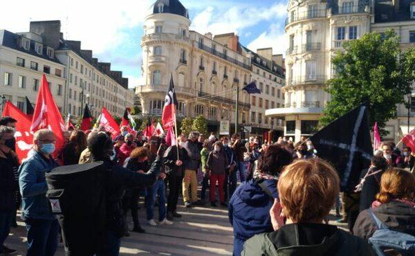 Orléans : 500 personnes dans la rue contre l'extrême-droite !