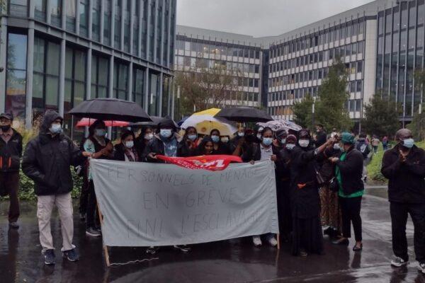 Grève du nettoyage à Jussieu ! Les invisibles de l'université sortent de l'ombre